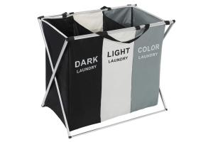 cesto ropa sucia 3 compartimentos