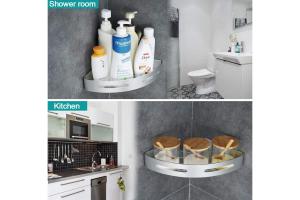 estanteria baño blanca