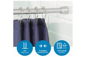 soporte cortina ducha
