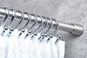 barra extensible para cortina baño